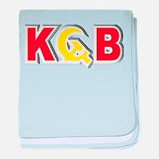 KGB Soviet Secret Police USSR Russian baby blanket