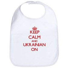 Keep Calm and Ukrainian ON Bib