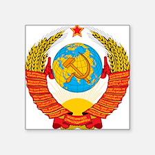 USSR Coat of Arms 15 Republic Emblem Sticker