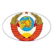 USSR Coat of Arms 15 Republic Emblem Decal