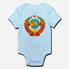 USSR Coat of Arms 15 Republic Emblem Body Suit