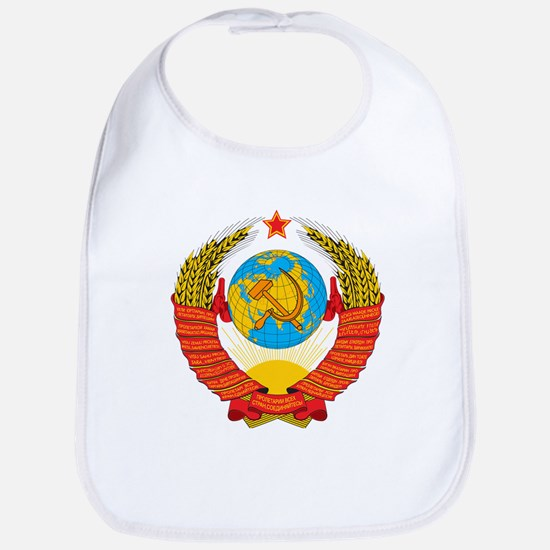 USSR Coat of Arms 15 Republic Emblem Bib