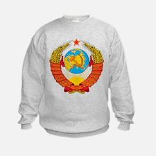 USSR Coat of Arms 15 Republic Embl Sweatshirt