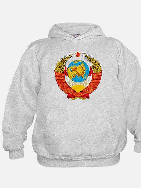 USSR Coat of Arms 15 Republic Emblem Hoody