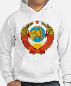 USSR Coat of Arms 15 Republic Em Jumper Hoody