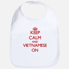 Keep Calm and Vietnamese ON Bib