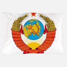 USSR Coat of Arms 15 Republic Emblem Pillow Case