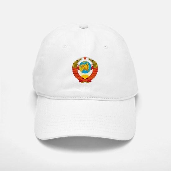 USSR Coat of Arms 15 Republic Emblem Cap
