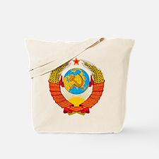 USSR Coat of Arms 15 Republic Emblem Tote Bag