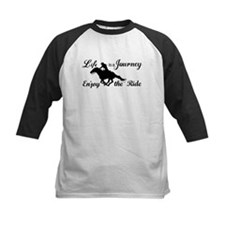 Life is a Journey, Enjoy the Ride Baseball Jersey