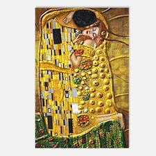 Klimt- Kiss Postcards (Package of 8)