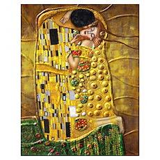 Klimt- Kiss Poster