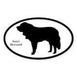 St bernard stickers Stickers & Flair