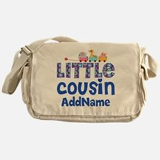 Personalized Little Cousin Messenger Bag
