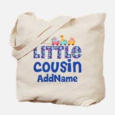 Personalized Little Cousin Tote Bag