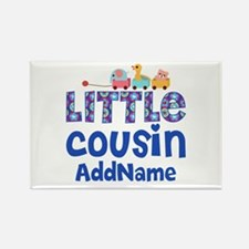 Personalized Little Cousin Rectangle Magnet