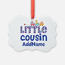 Personalized Little Cousin Ornament
