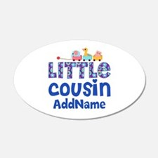 Personalized Little Cousin Wall Decal