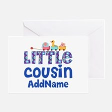 Personalized Little Cousin Greeting Card