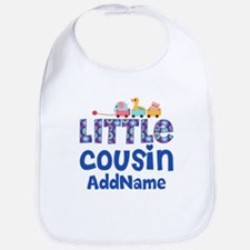 Personalized Little Cousin Bib