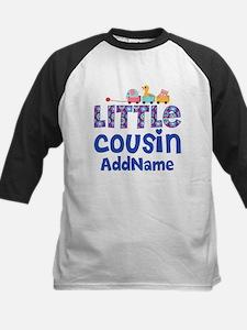 Personalized Little Cousin Kids Baseball Jersey