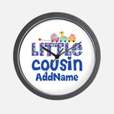 Personalized Little Cousin Wall Clock
