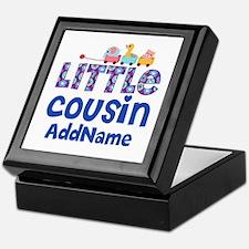 Personalized Little Cousin Keepsake Box