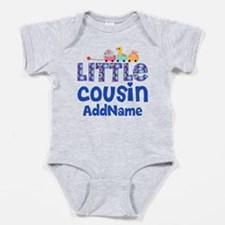 Personalized Little Cousin Baby Bodysuit