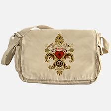 New Orleans Monogram Q Messenger Bag