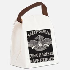Navy Corpsman Canvas Lunch Bag