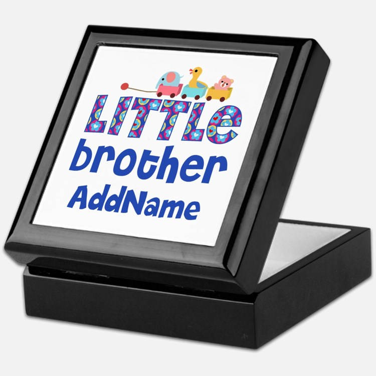 Personalized Little Brother Keepsake Box