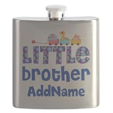Personalized Little Brother Flask