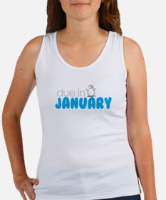 due in january Women's Tank Top