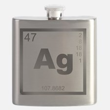 Element Silver Flask