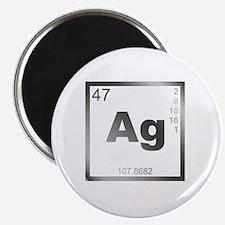 Element Silver Magnet