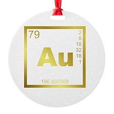 Element Gold Ornament