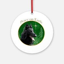 Belgian Peace Ornament (Round)