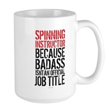 Spinning Instructor Badass Job Title Mugs