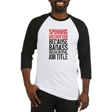 Spinning Instructor Badass Job Tit Baseball Jersey