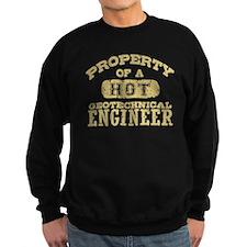 Hot Geotechnical Engineer Sweatshirt