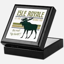 Isle Royale Moose National Park Keepsake Box