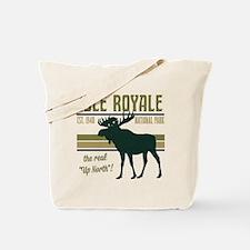 Isle Royale Moose National Park Tote Bag