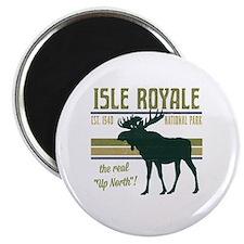 Isle Royale Moose National Park Magnet