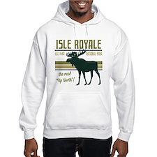 Isle Royale Moose National Park Hoodie