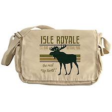 Isle Royale Moose National Park Messenger Bag