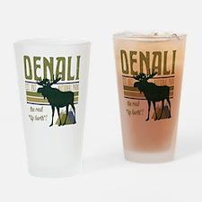 Denali National Park Moose Drinking Glass