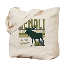 Denali National Park Moose Tote Bag