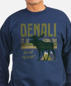 Denali National Park Moose Sweatshirt