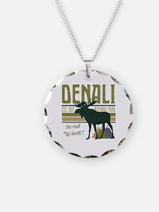 Denali National Park Moose Necklace