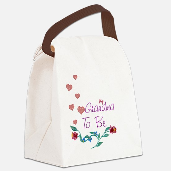 Grandma To Be Canvas Lunch Bag
